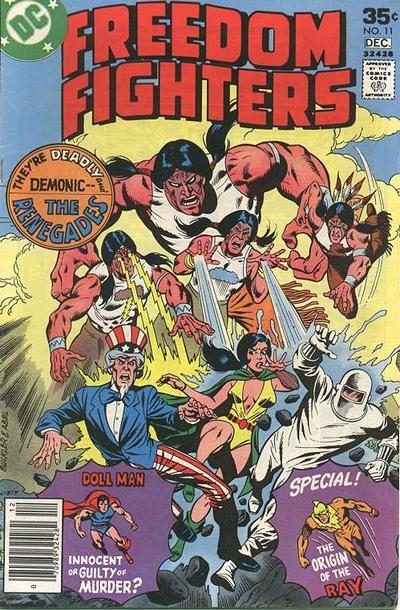 Freedom Fighters 11 (1976 DC)*VF