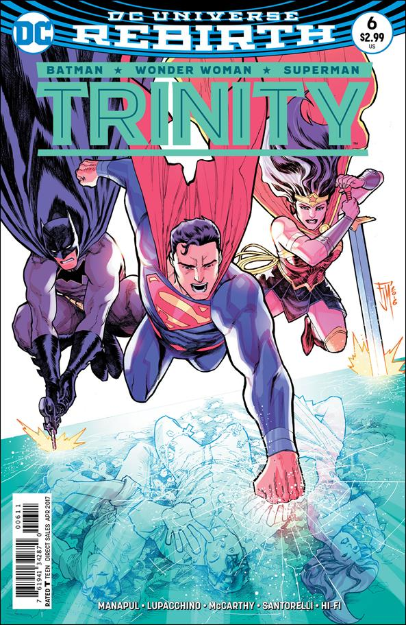 TRINITY Lot (DC/2016 Series)*DC Universe Rebirth