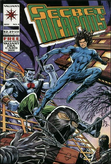 SECRET WEAPONS Lot (Valiant/1993)