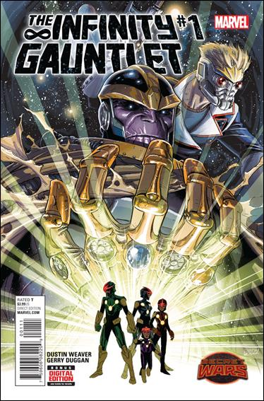 Infinity Gauntlet 01A (2015 2nd Series)