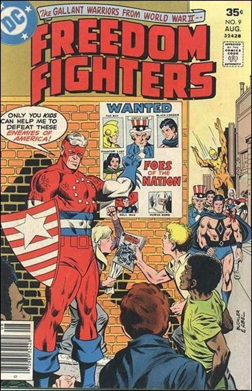 Freedom Fighters 09 (1976 DC)*VF