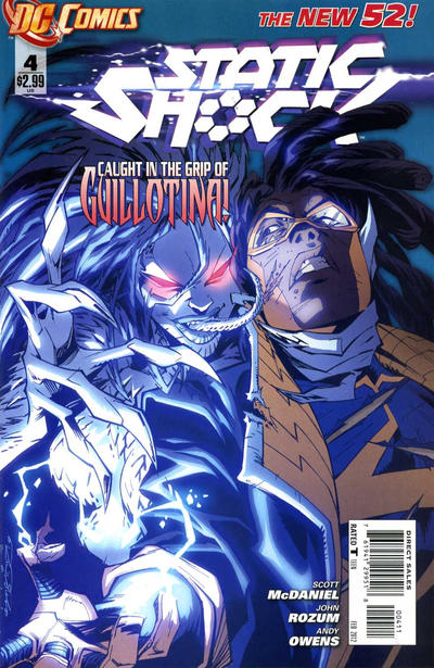 Static Shock-4 (DC/New 52)