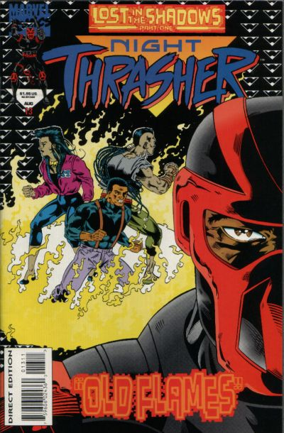 NIGHT THRASHER Lot (Marvel/1993)