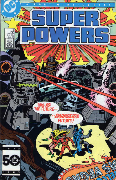 Super Powers 05 (1985 2nd Series)*FINE++