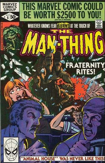 Man-Thing 06D (1979 2nd Series)*Direct Edition