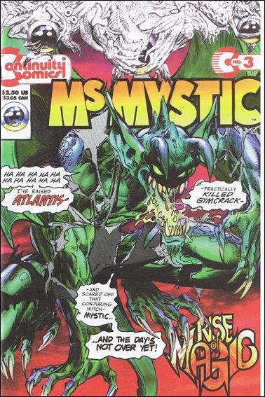 MS MYSTIC Titles Lot (Continuity Comics)