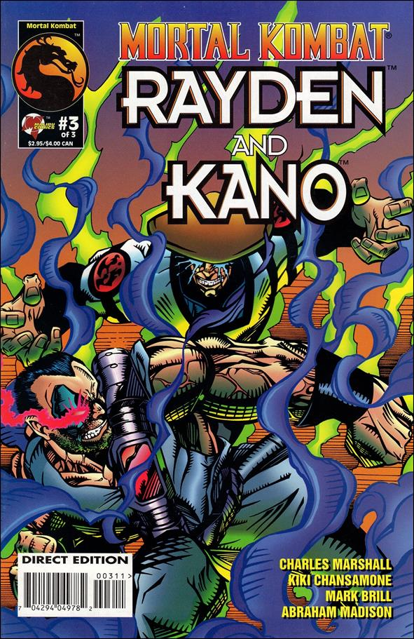 Mortal Kombat Rayden and Kano 03 (1995)