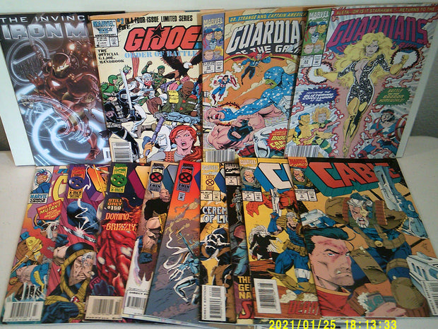 BULK MARVEL TITLES Lot (C) *(50+ Reading Grade Comics!)