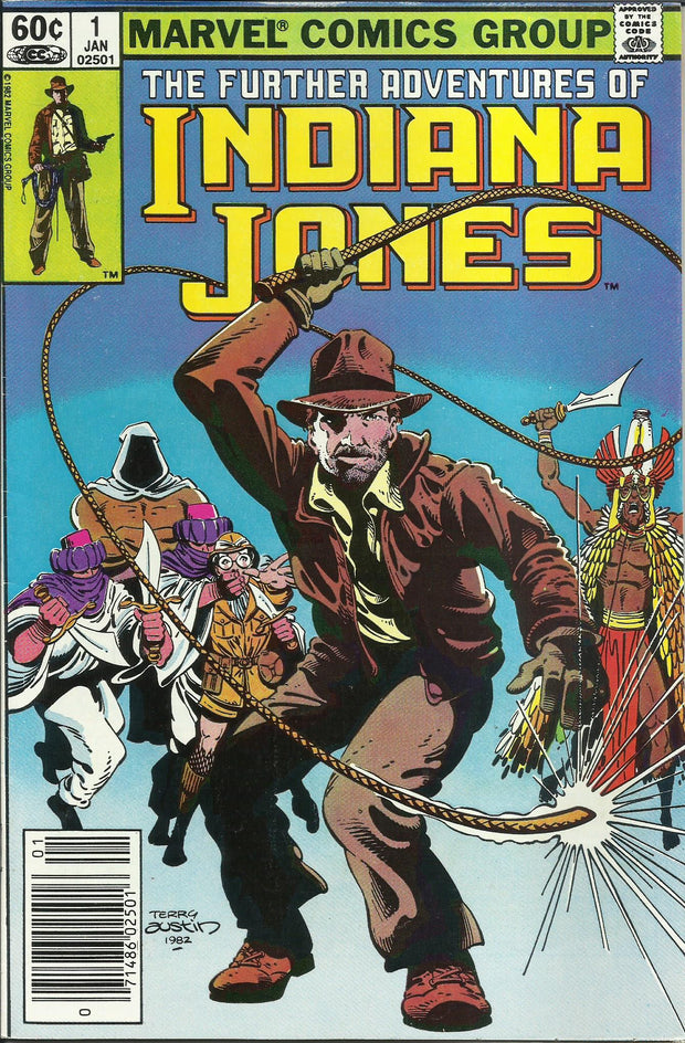 Further Adventures of Indiana Jones 01 (1983)*VF-