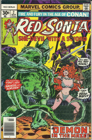 Red Sonja 02 (1977 1st Marvel Series)*FINE+