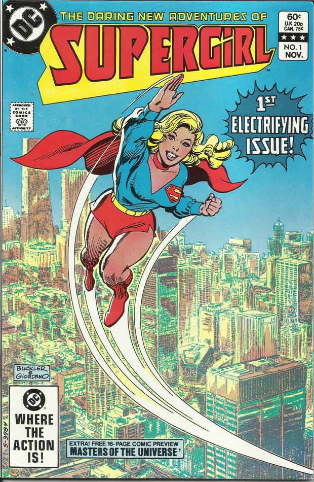 Supergirl 01 (1982 2nd Series)*NEAR MINT!