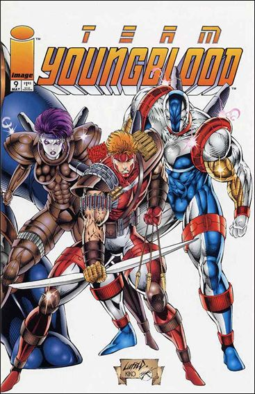 TEAM YOUNGBLOOD Lot (Image/1993)