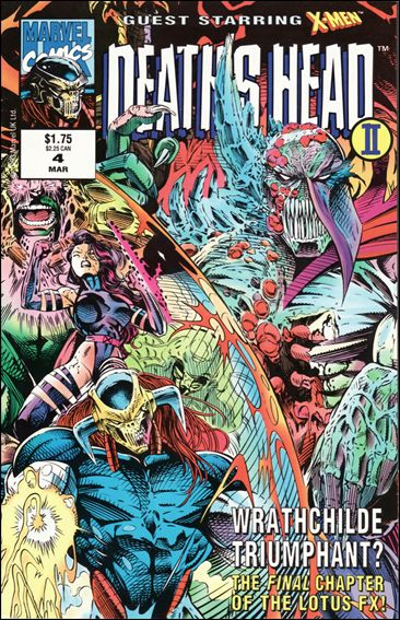 Deaths Head II (Vol. 2) 4 (1992 Series)
