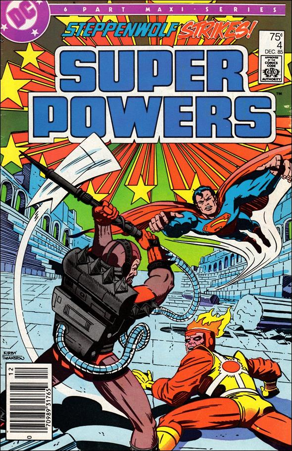 Super Powers 04 (1985 2nd Series)*FINE++