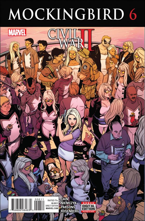 MOCKINGBIRD Lot (Marvel/2016)
