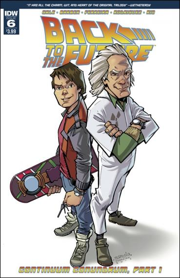 Back to the Future 06 (2015 IDW)