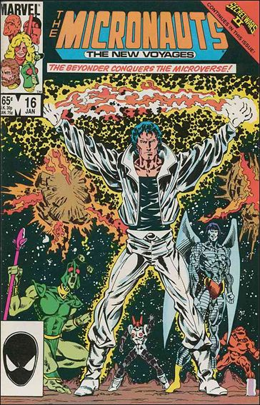 MICRONAUTS Vol.2 Lot (Marvel/1984 Series)