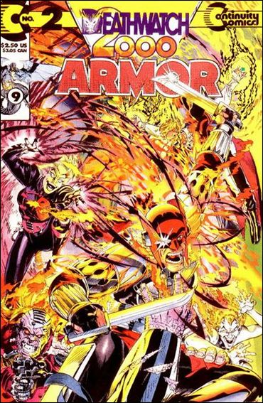 ARMOR Vol.2 Lot (Continuity Comics/1993 Series)