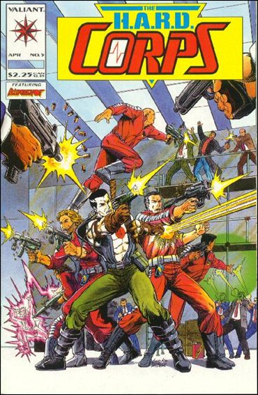 HARD CORPS Lot (Valiant/1992)