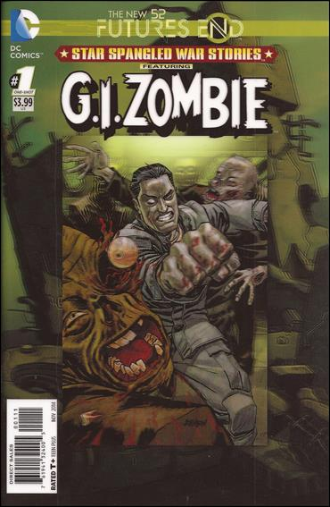 Star Spangled War Stories Gi Zombie Futures End 01A (2014)