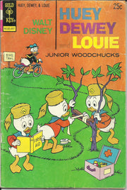 Huey Dewey and Louie Junior Woodchucks 27 (1966 Gold Key)*FAIR+