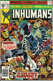 Inhumans 10 (1975 1st Series)*FINE
