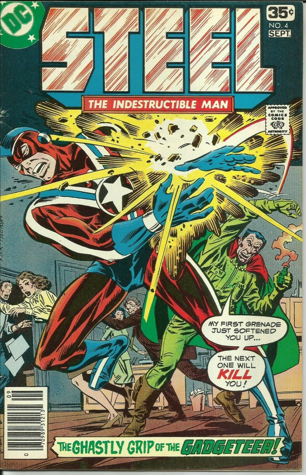 Steel the Indestructible Man 04 (1978)*VG/VG+
