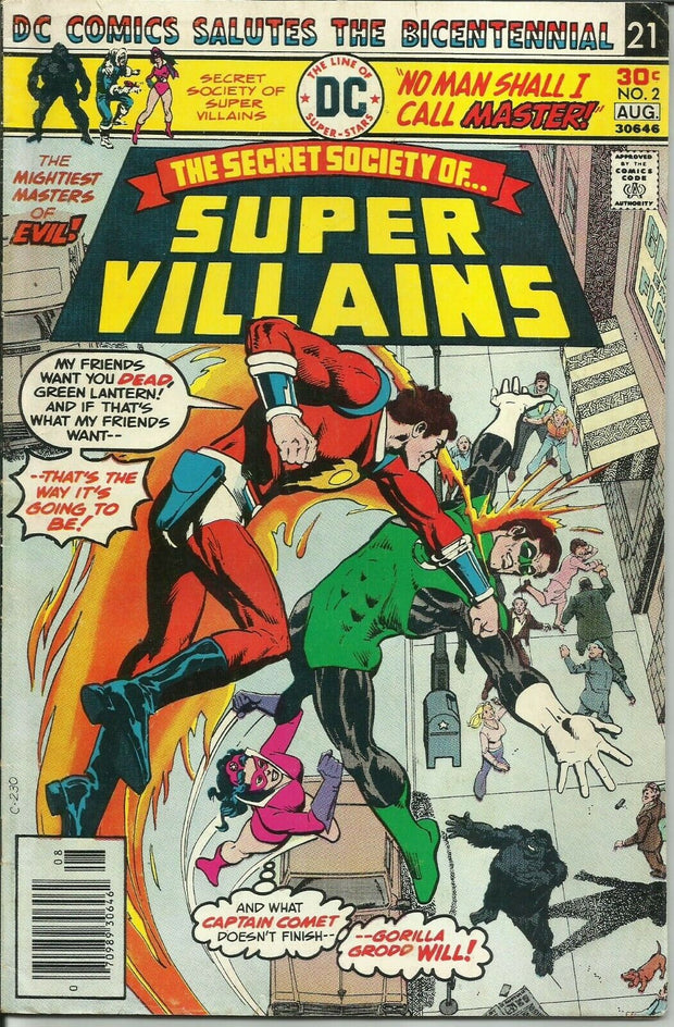 Secret Society of Super Villains 02 (1976)*VG