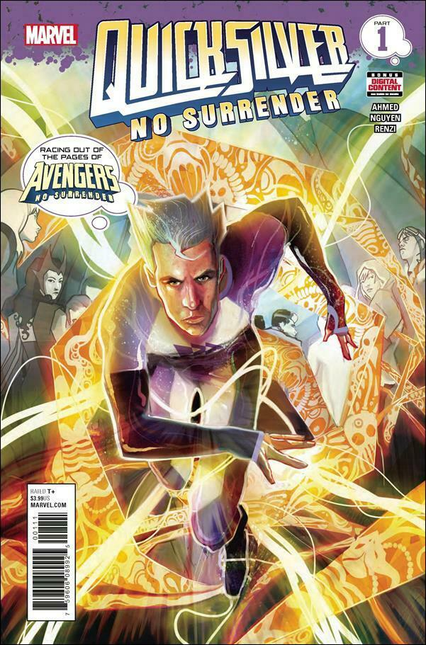 QUICKSILVER:No Surrender Lot #1,5 (Marvel/2018)*Scarlet Witch's Brother