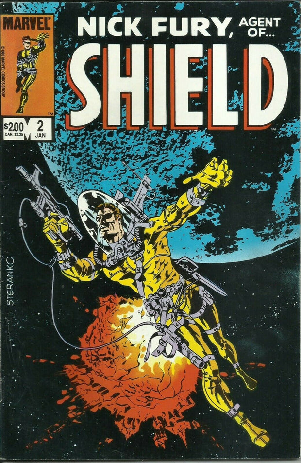 NICK FURY Agent of Shield Set (Marvel/1983)*Full Run!