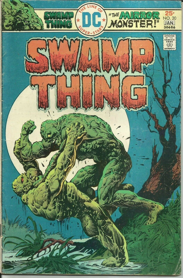 Swamp Thing 20 (1972 1st Series)*GOOD/GOOD+
