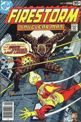 FIRESTORM the Nuclear Man Vol.1 #4 (DC/1978 Series)