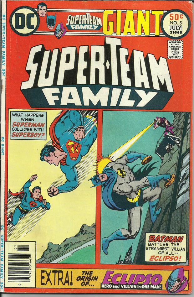 Super-Team Family 05 (1975)*VG+/FINE-