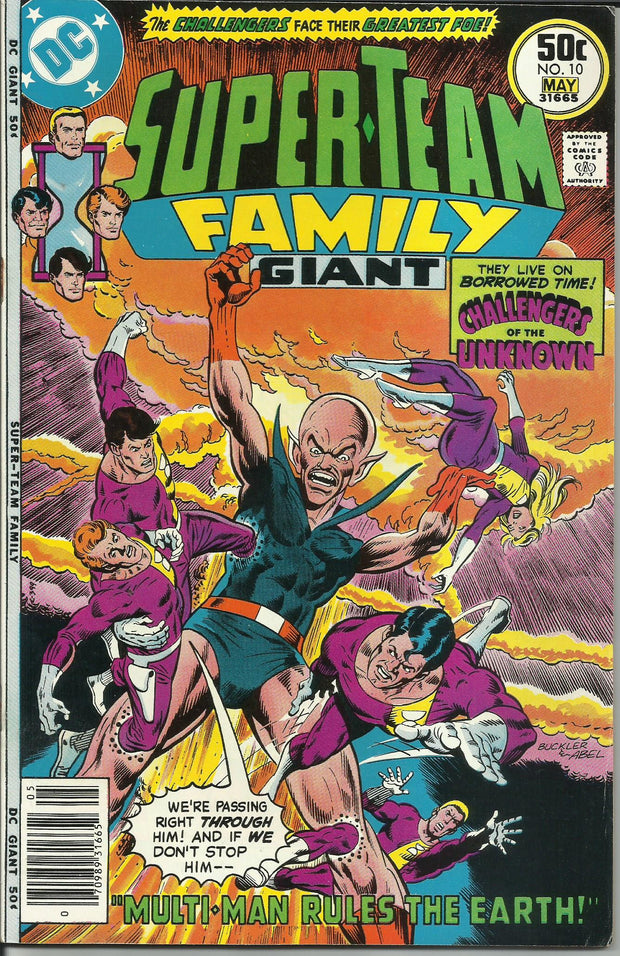 Super-Team Family 10 (1975)*FINE-