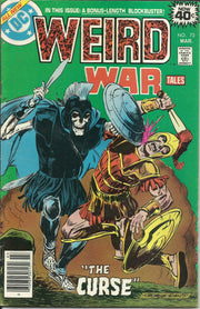 WEIRD WAR TALES Lot #34,52,73 (DC/1975-1979)