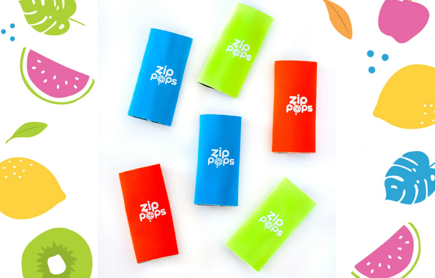 Pop Grips by Zip Pops (6 Pack)
