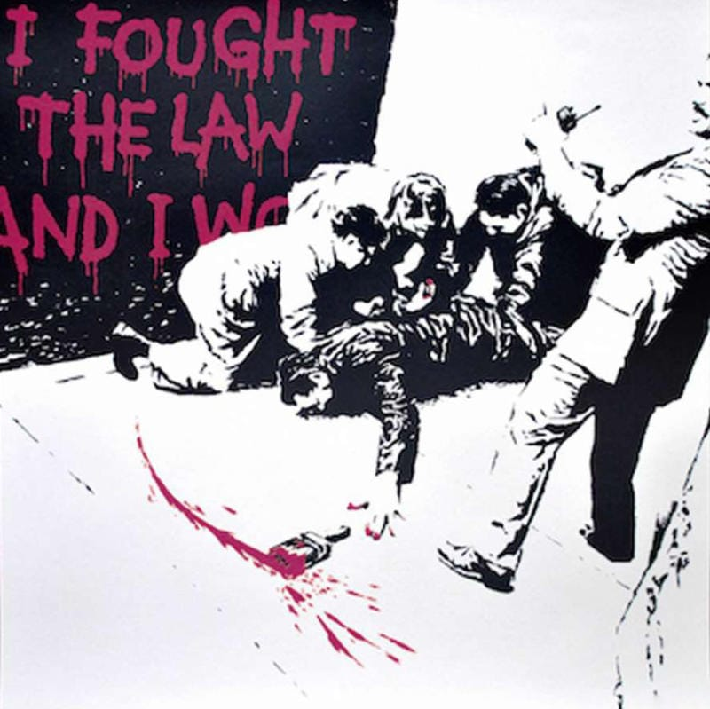 I Fought The Law (Pink)
