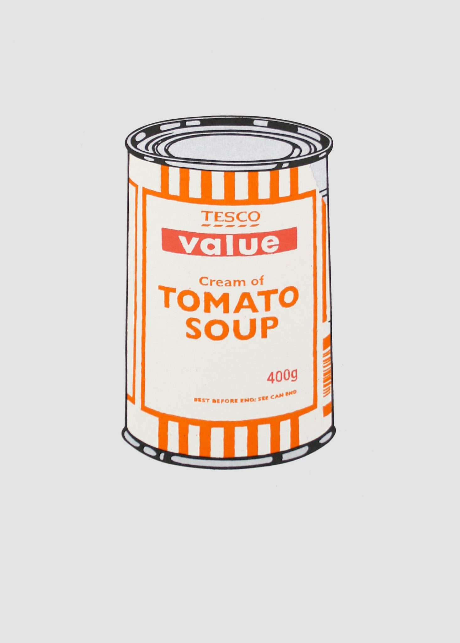Soup Can (White / Orange / Raspberry)