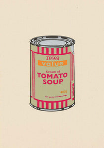 Soup Can (Sage Green / Cherry / Tan)