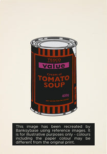 Soup Can (Black / Orange / Hot Pink)