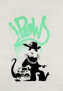 Gangsta Rat (Mint Green)