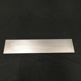 Decorative Engine Turning Aluminum Bar Back Decorative Sign Material  .063 Thick Plate Spun Twisted  Sheet Metal Panel