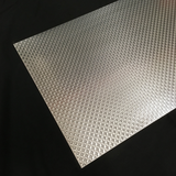 Aluminum Sheet Metal With Vinyl Protective Cover Sheet Material No Scratches