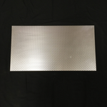 Embossed style aluminum sheet metal