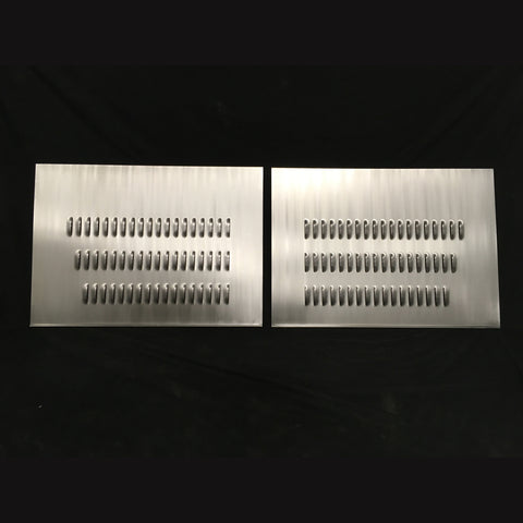 Hot Rod Louvered Hood Sides Panels Sheet Metal 18 Guage Steel Inquire About Custom Made Aluminum Options Multi Use Universal Early Ford Traditional 1928 1929 1930 1931 1932