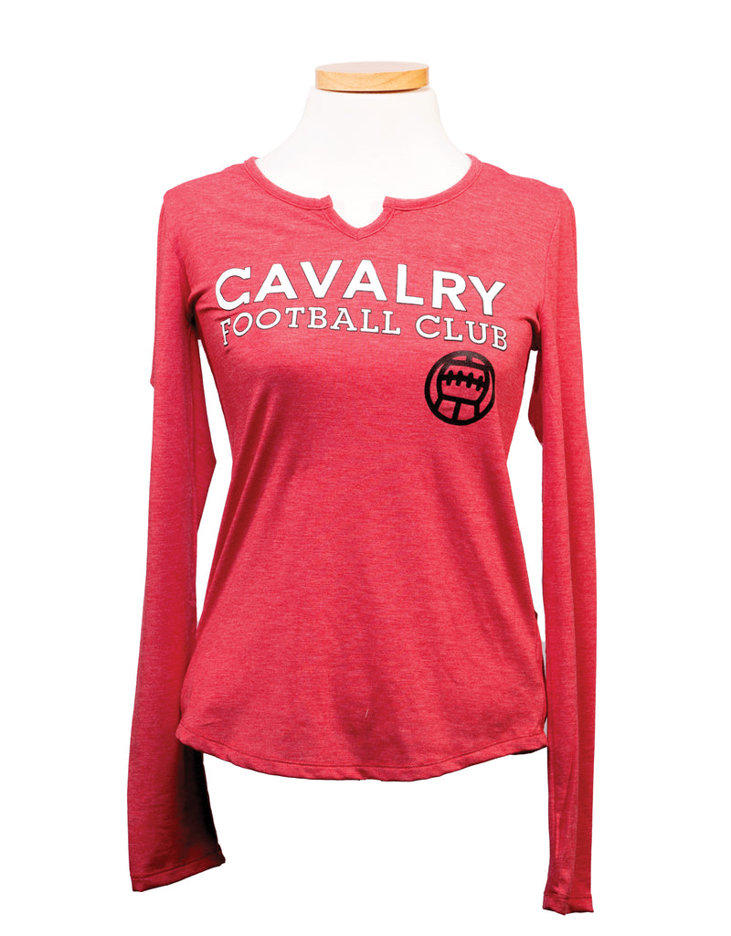 Cavalry FC  Women's Long Sleeve Shirt