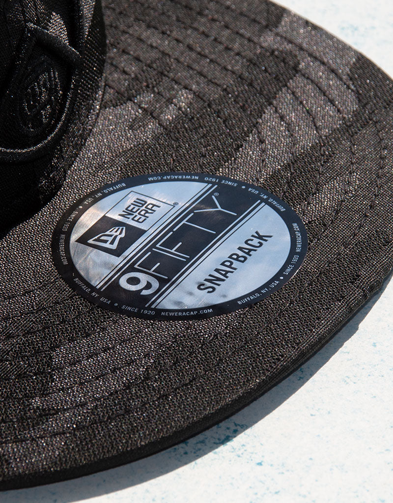 9Fifty Black Tonal Camo Snapback