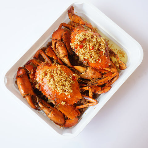 Crustasia's All Crab Tray (2 crabs, 1000g)