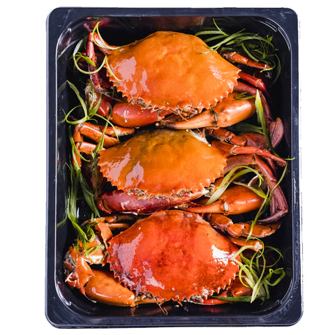 Crustasia's All Crab Tray (3 crabs, 1500g)