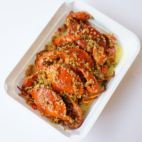 Dampa Crab Tray 1kg (3 to 4 Crabs)